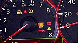 Dekódovanie ikon na prístrojovej doske