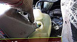 Utskifting av frostvæske VAZ 2110