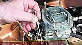 Karburaatori VAZ 2101 reguleerimine