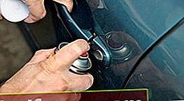 Kā ieeļļot automašīnas durvju slēdzenes