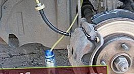 Kā iztukšot bremzes VAZ 2110