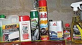 Indvendige rengøringsmidler