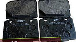 Piduriklotsid VAZ 2107 jaoks