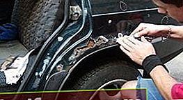 Bekæmpelse af bilkorrosion med egne hænder
