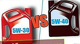 5W30 και 5W40 - ποια είναι η διαφορά μεταξύ των λαδιών κινητήρα