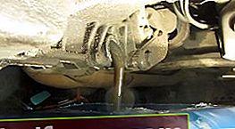 Oljeskift i girkassen VAZ 2110