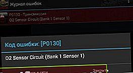 P0130: Kāds ir skābekļa sensora ķēdes zemspriegums
