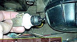 Elektro-corrector forlygter til VAZ