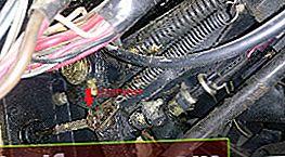 Reparasjon av clutch hovedsylinder VAZ 2106