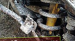 Hvordan skifte bakfjærene på en VAZ 2101 - 2107