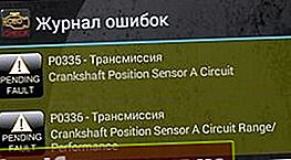 P0336 - Fejl på krumtapaksel sensor