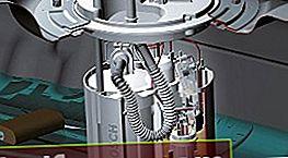 Degvielas sūkņa ķēde: mehāniska, elektriska