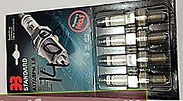 Stearinlys til VAZ 2113/2114/2115