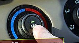 Klaidos naudojant oro kondicionierių automobilyje