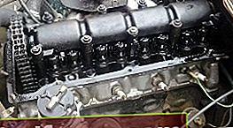 Installation af VAZ 2101-motoren