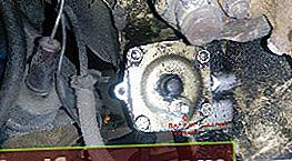 Skifte olje i styresystemet VAZ 2106