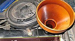 Skifte olje og oljefilter på VAZ 2101 - 2107