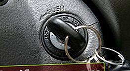 Hvorfor starter ikke bilen med en nøgle?