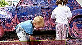 Forberedelse af en bil til maling med gummimaling