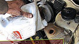 Udskiftning af kølevæske på en VAZ 2101 - 2107