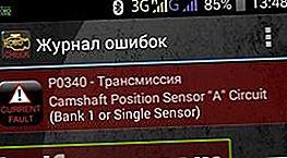 P0340 - nukkvõlli anduri viga