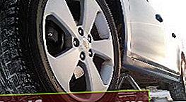 Bremžu kluči uz Chevrolet Cruze