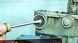 Udskiftning af stængelolietætningen i Lanos og Nexia gearkassen