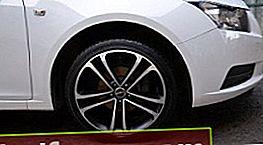 Pyörät Chevrolet Cruzella