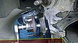 Udskiftning af hjullejer Aveo T300