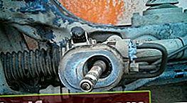 Udskiftning af ratstativ Chevrolet Aveo T300