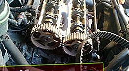 Udskiftning af tandremmen på en 1,8 liters Zeteс-motor. Ford fokus