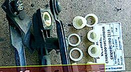 Udskiftning af plastbøsningen på trapezviskeren Ford Focus 1