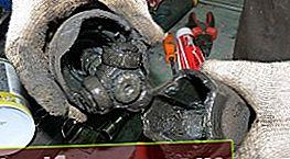 Inspeksjon av drivakselen og utskifting av drivleddsfettet Ford Focus