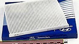 Ohjaamon suodatin Hyundai Solaris