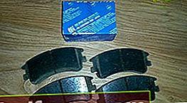 Bremseklosser for Mazda 6 GG, GH og GJ