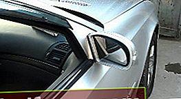 Spoguļa elementa nomaiņa Mercedes W211