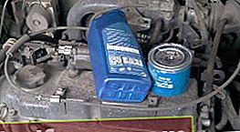 Mitsubishi Lancer olie og oliefilter udskiftning