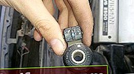 Udskiftning af banesensoren på Nissan Cefiro / Maxima A32