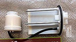 Brændstoffilter til Toyota RAV4 3. og 4. generation