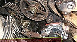 Udskiftning af tandremmen på 3S-GE-motoren