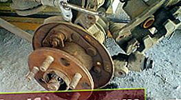 Toyota Corona / Caldina Udskiftning af bagnav