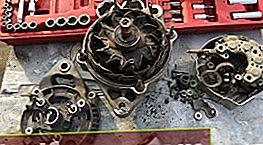 Toyota Corona / Caldina generaatori osade vahetus