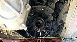 Toyota Avensis kasse olieudskiftning