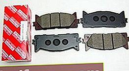 Bremseklodser til Toyota Camry V40 og V50