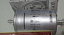 Kuro filtras VW Golf 4